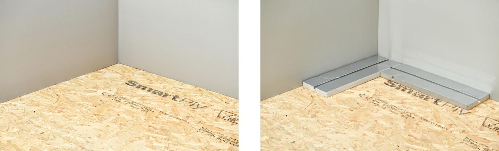 Монтаж фольгированной панели в деревянном доме